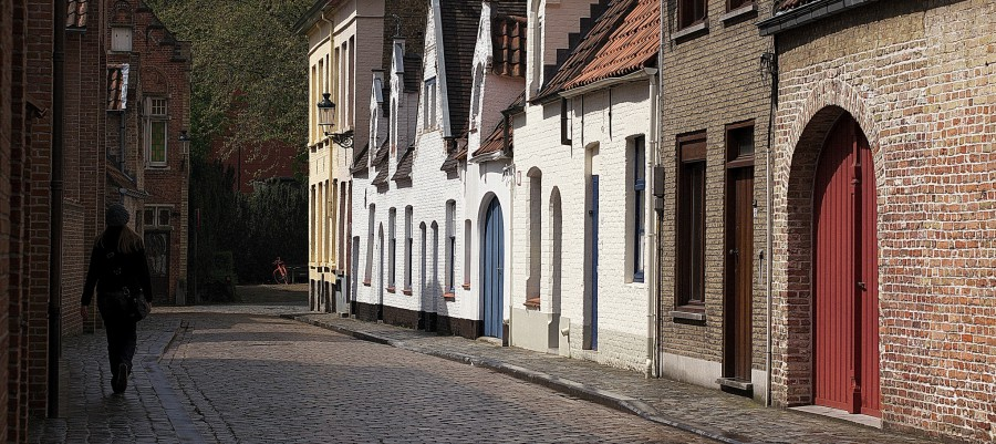 Wandering Bruges streets