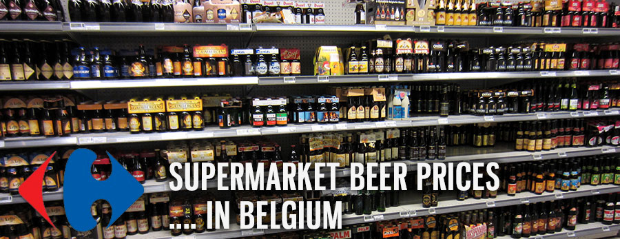 Supermarket Beer Prices in Belgium