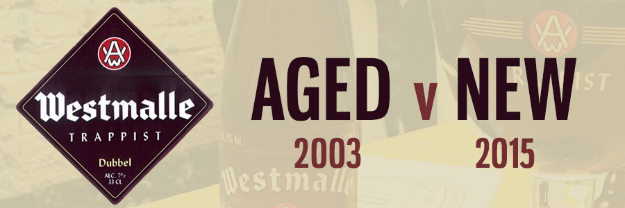 Westmalle Dubbel - Aged Vintage vs New